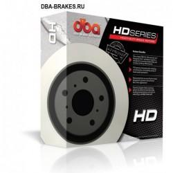 Тормозной диск DBA DBA42650 для IMPREZA WRX