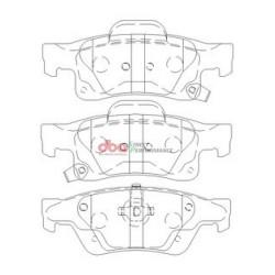 Тормозные колодки DBA DB2217SP для GRAND CHEROKEE
