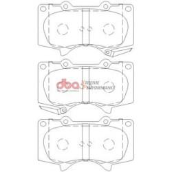 Тормозные колодки DBA DB1482XP для Pajero 4 (5-ти дверный)