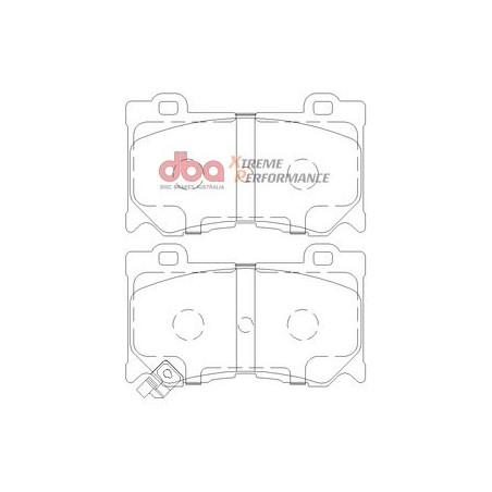 Тормозные колодки DBA DB2400XP для Q50S,FX30D,FX37,G37 coupe,M56,FX50,QX70,370Z