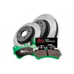 Комплект на заднюю ось: диски DBA DBA2723ES и колодки 1857SP для LAND CRUISER 200,LX 570