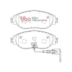 Тормозные колодки DBA DB8849SP для GOLF