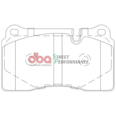 Тормозные колодки DBA DB2073SP для TOUAREG,TT RS,A7,A6,Q5,RS3
