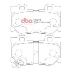 Тормозные колодки DBA DB2401SP для Q50S