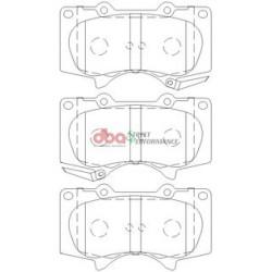 Тормозные колодки DBA DB1482SP для Pajero 4 (5-ти дверный)