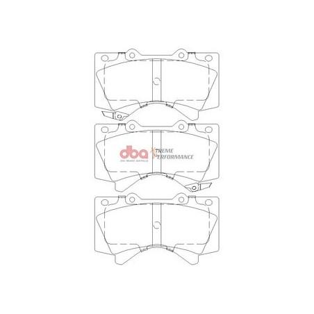 Тормозные колодки DBA DB1838XP для LAND CRUISER 200,TUNDRA,LX 570