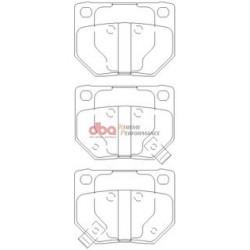 Тормозные колодки DBA DB1220XP для IMPREZA WRX