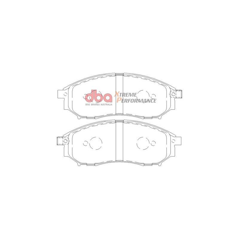 Тормозные колодки DBA DB1696XP для G25