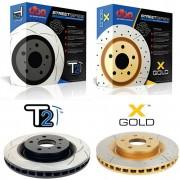 Тормозные диски DBA Street серии: GOLD и T2 Series